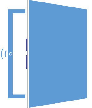 Coverk cerraduras electr nicas for Puerta que se abre sola